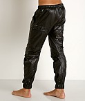 Rick Majors Ripstop Wet Look Cargo Pants Black, view 4