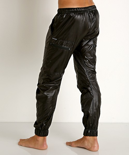 Rick Majors Ripstop Wet Look Cargo Pants Black