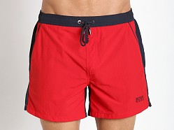 Hugo Boss Snapper Swim Shorts Red