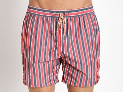 Hugo Boss Salmon Swim Shorts Red