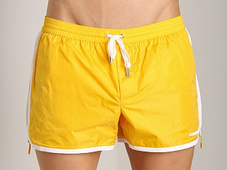 DSQUARED Runner Swim Shorts Yellow