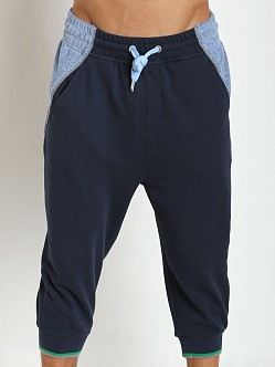 2xist Rugby Cropped Pant Estate Blue