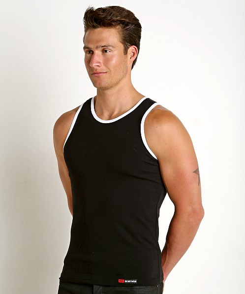 Go Softwear California Classic Tank Top Black/White