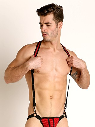 Cell Block 13 Echo Mesh Harness Red
