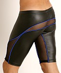 Rick Majors Dark Mode Shorts Black/Royal, view 4
