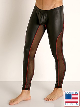 Rick Majors Dark Mode Leggings Black/Red