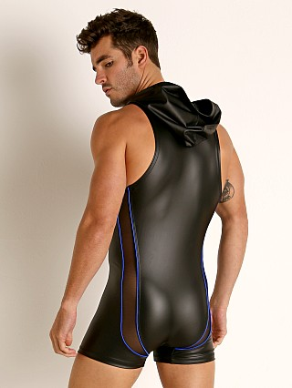 You may also like: Rick Majors Dark Mode Hooded Singlet Black/Royal