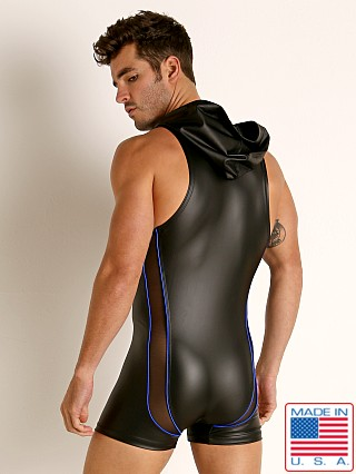 Rick Majors Dark Mode Hooded Singlet Black/Royal