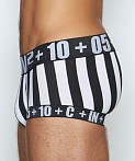 C-IN2 H+A+R+D Fly Front Brief Referee Black, view 3