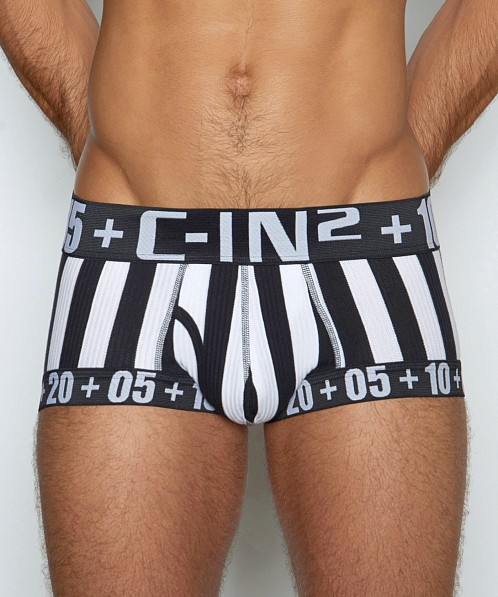 C-IN2 H+A+R+D Fly Front Brief Referee Black
