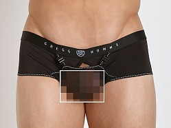 Gregg Homme Dare Enhancer Mesh Boxer Briefs Black
