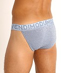 Modus Vivendi Glam Sparkle Tanga Sports Brief Steel Blue, view 4