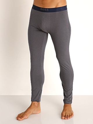 Model in dark grey Hugo Boss Infinity Long John