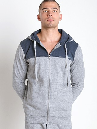 Diesel Brandon-Z Sweat Shirt Marbled Grey