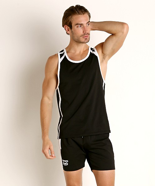 Nasty Pig Title Ripcord Tank Top Black