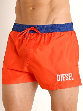 Diesel Sandy Swim Shorts Mandarin Red