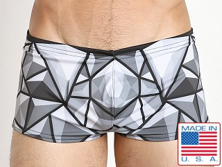 Marco Marco Bevel Swim Trunk Grey