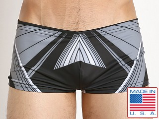 Marco Marco Laser Swim Trunk Gray/Black