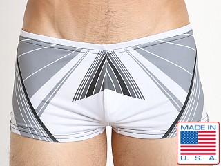 Marco Marco Laser Swim Trunk Grey/White