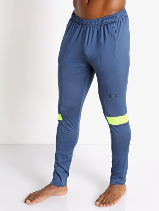 Model in admiral blue Under Armour Challenger III Training Pant