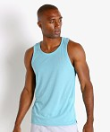 Under Armour Streaker Run Tank Top Cosmos Blue, view 3