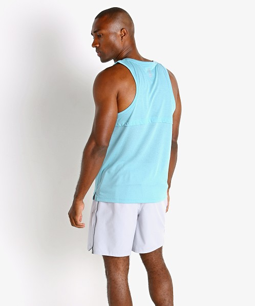 Under Armour Streaker Run Tank Top Cosmos Blue