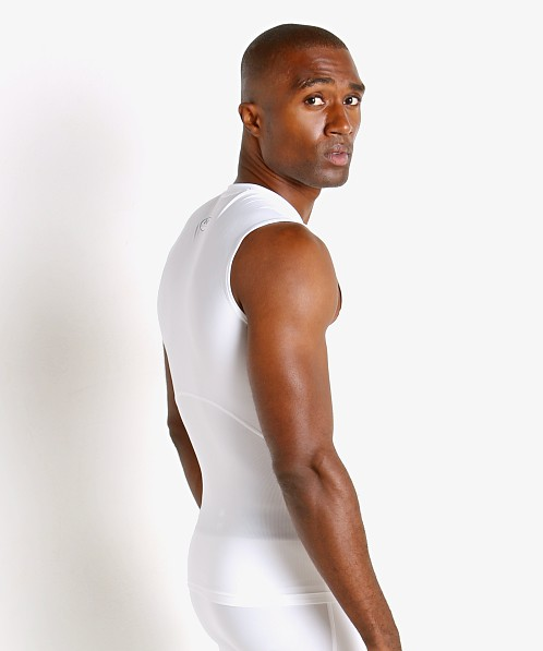 Under Armour Iso-Chill Compression Tank White