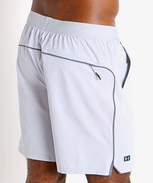 Under Armour Shoreman Iso-Chill 2-in-1 Short Gray Light Heather