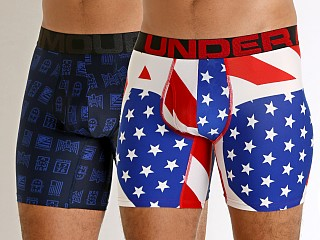 You may also like: Under Armour Tech Mesh Boxerjock 2-Pack Academy
