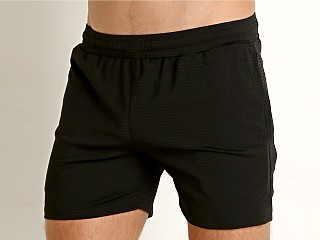 St33le Stretch Mesh Performance Shorts Black