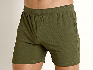 St33le Stretch Mesh Performance Shorts Army
