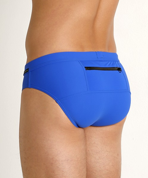 Gregg Homme Exotic Swim Brief Royal