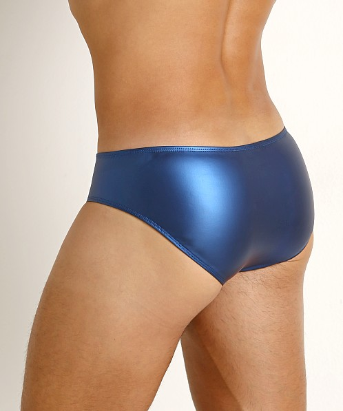 Rick Majors Liquid Skin Hip Brief Blue Steel