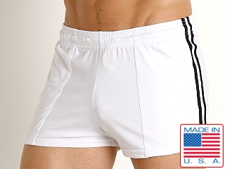 LASC Performance Gymnast Short White