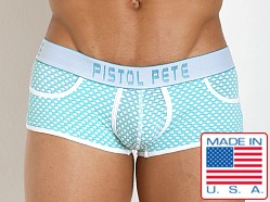 Pistol Pete Marquee Trunk Turquoise