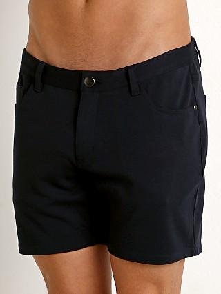 St33le Stretch Jeans Shorts Navy