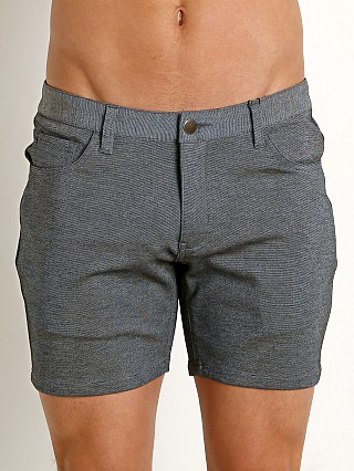 St33le Stretch Jeans Shorts Charcoal