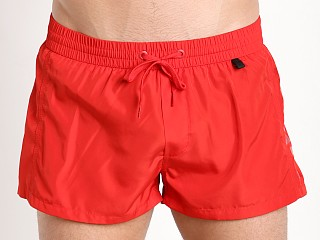 Diesel Fold & Go Sandy Swim Shorts Red
