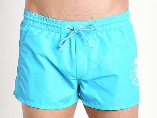 Diesel Mohican Logo Sandy Swim Shorts Turquoise