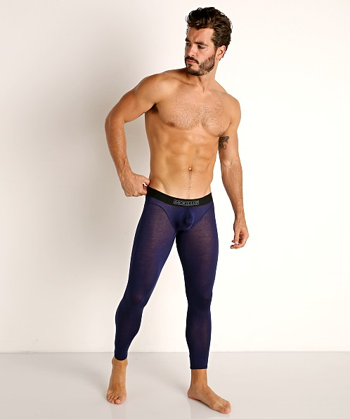 McKillop Max Bulge Modal Long Johns Navy
