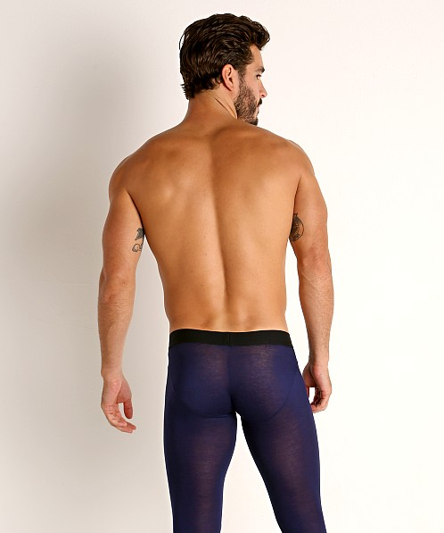 McKillop Hoist Modal Long Johns Navy