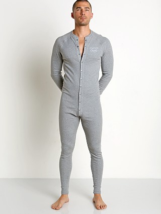 Nasty Pig Union Suit Grey Heather