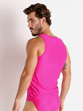 Complete the look: Rick Majors Slinky Classic Tank Top Fuchsia