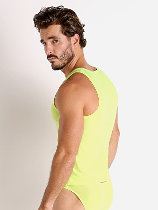Complete the look: Rick Majors Slinky Classic Tank Top Lemon Lime