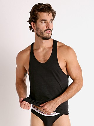 Complete the look: Rick Majors Burnout Ringer Tank Top Black