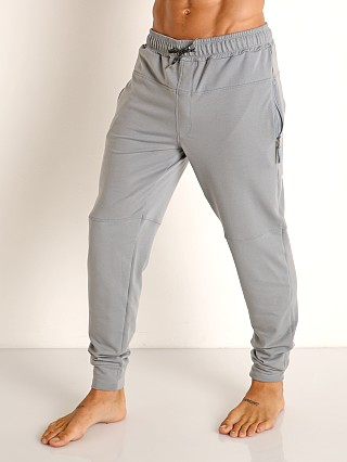 Model in heather Speedo Male Relaxed Jogger Pant