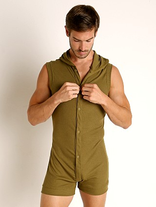 Complete the look: Rick Majors Hoodie Bodysuit Army