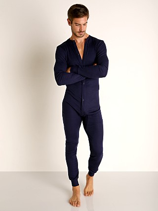 Complete the look: Rick Majors American Classic Back Flap Union Suit Navy