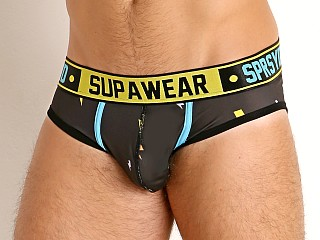Supawear Sprint Brief Black Thunder