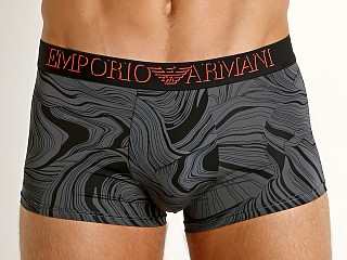 Emporio Armani Magmatic Waves Trunk Anthracite Waves/Black